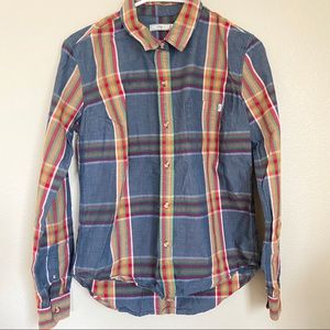 Boys obey brand button up shirt